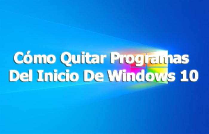 Entfernen Sie Programme aus dem Start von Windows 10. 2021 Tutorial
