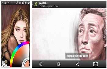 Android-Zeichen-App