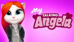 Meine sprechende Angela