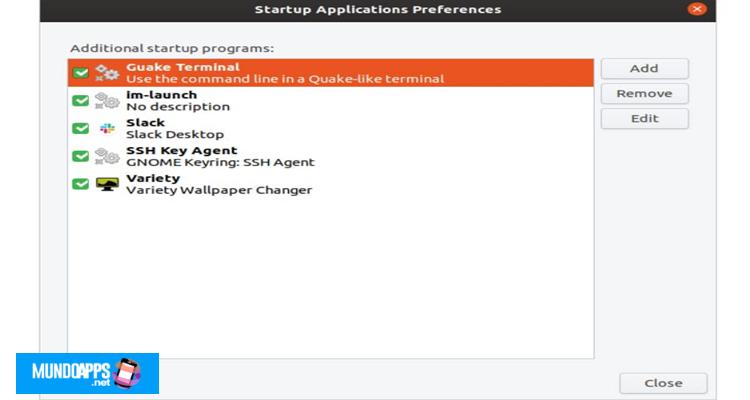Konfigurieren Sie Startskripte mithilfe von Startanwendungen