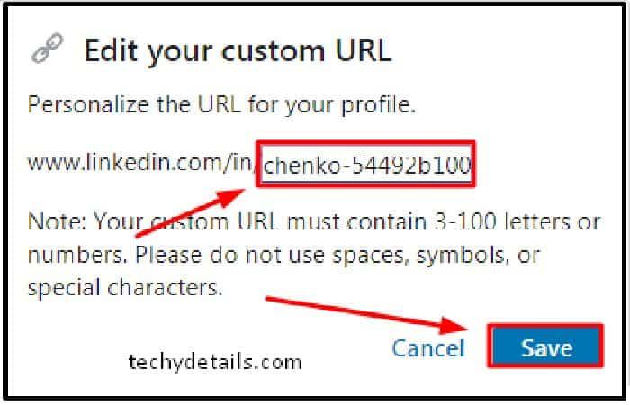 Erstellen Sie das letzte Segment Ihrer neuen URL