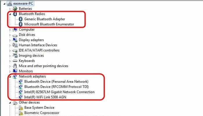 So aktivieren Sie Bluetooth in Windows 7