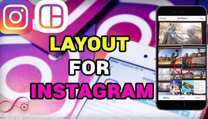So verwenden Sie das Layout Instagram