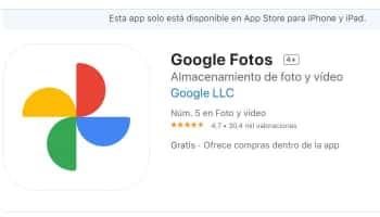 Google Fotos auf dem iPhone