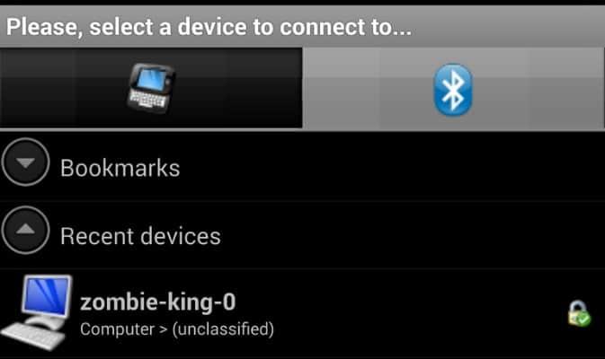 So senden Sie Bilder von Ihrem Telefon über Bluetooth an den PC