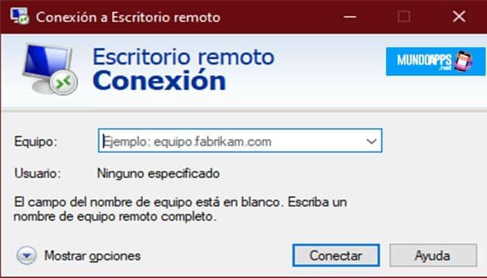"""Öffnen Sie den Remotedesktop (""""mstsc"""")"""