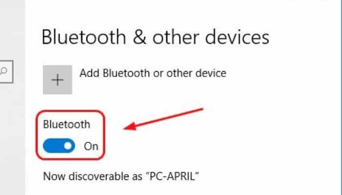 So aktivieren Sie Bluetooth in Windows 10