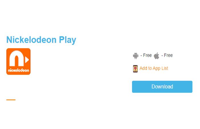 Nickelodeon spielen