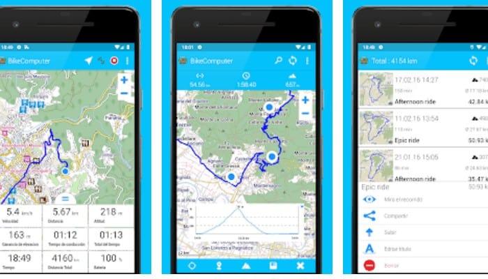 8 Apps Fahrrad-Kilometerzähler 8