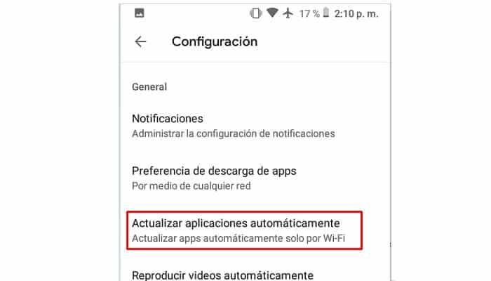Apps automatisch aktualisieren
