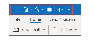 Como personalizar a barra de ferramentas de acesso rápido do Office Word 7