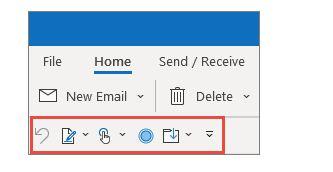 Como personalizar a barra de ferramentas de acesso rápido do Office Word 8