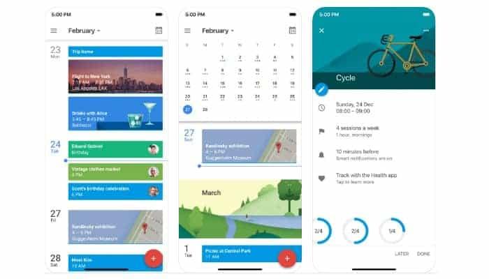 Die besten Kalender-Apps