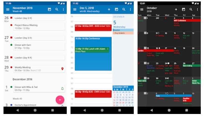 die besten Kalender- und Agenda-Apps