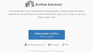 Archive Extrator-
