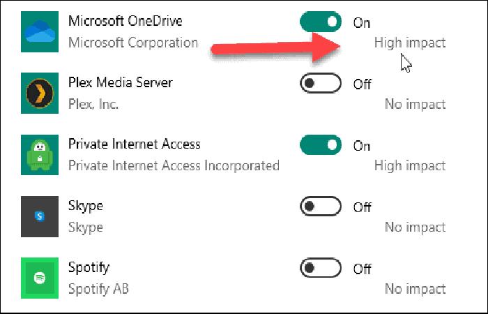 listet alle installierten Apps auf