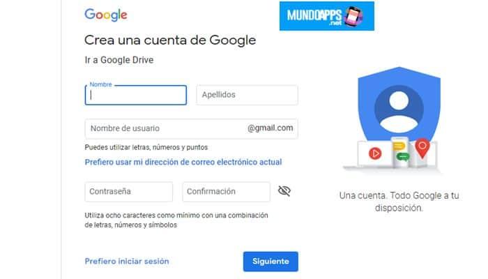 ein Google Drive-Konto erstellen