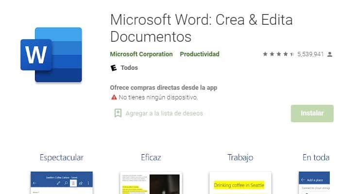 Word-Anwendung
