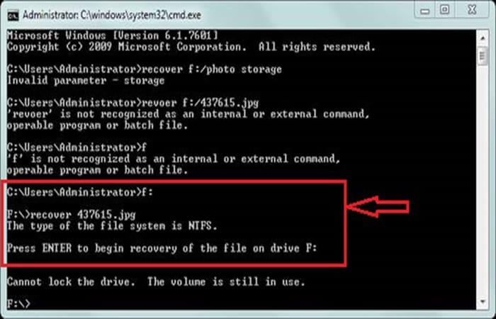 So stellen Sie gelöschte Dateien von einem Pendrive ohne Programme wieder her 5