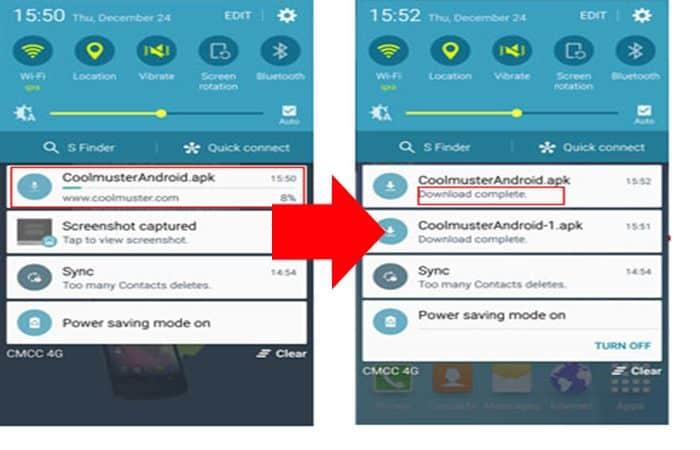 So installieren Sie apk-Dateien auf Android
