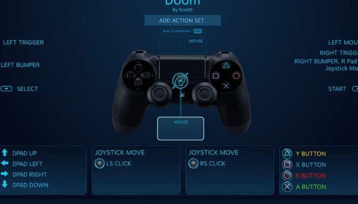 So verwenden Sie den PS4-Joystick mit Steam