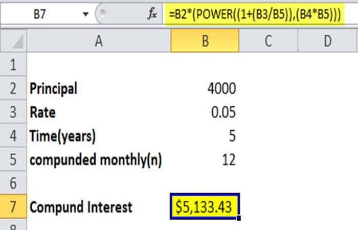 So bringen Sie Strom in Excel 25