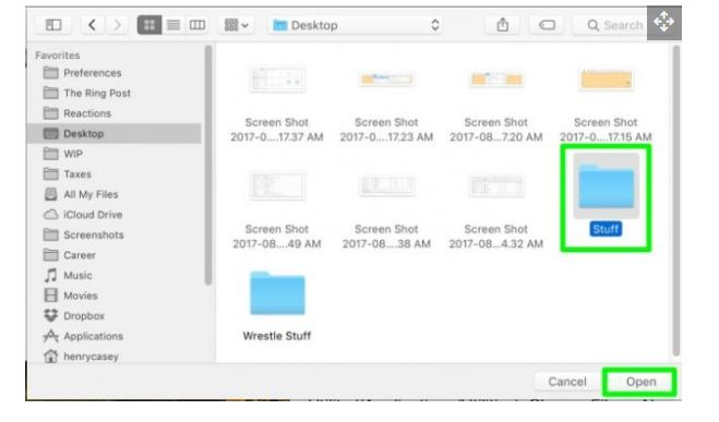 So erstellen Sie einen Ordner auf dem Mac 26