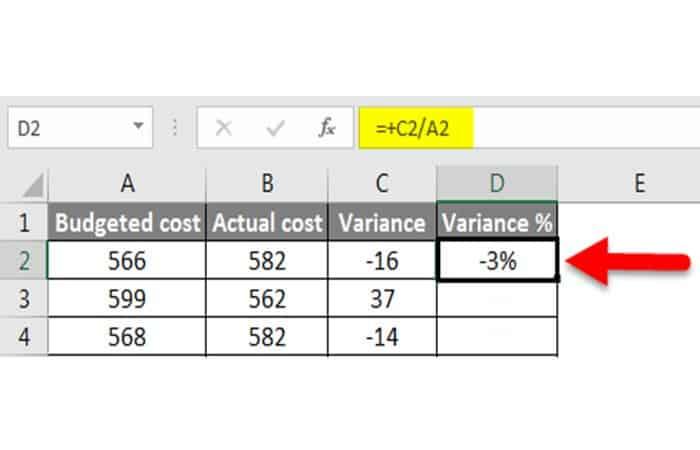 Wie erhalte ich die Varianz in Excel?  28