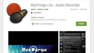 RecForge Free - Audiorecorder