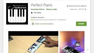 Perfektes Klavier