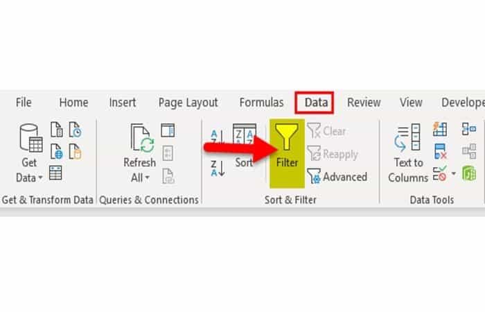 Verknüpfung von Wie werden Filter in Excel eingefügt?