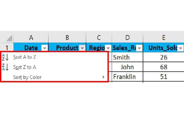 So fügen Sie Filter in Excel ein 22