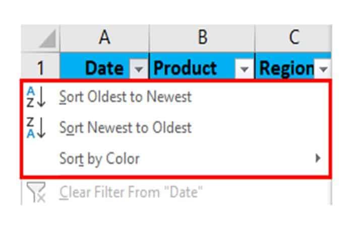 So fügen Sie Filter in Excel ein 26