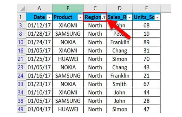 So fügen Sie Filter in Excel ein 31