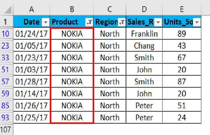 So fügen Sie Filter in Excel ein 33
