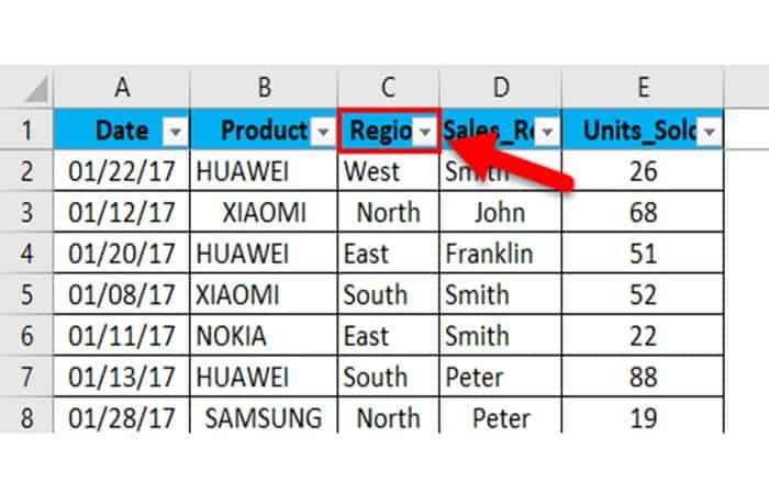 So fügen Sie Filter in Excel 40 ein