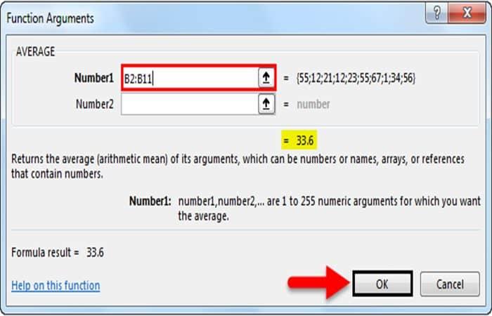 Wie man einen Durchschnitt in Excel 11 nimmt