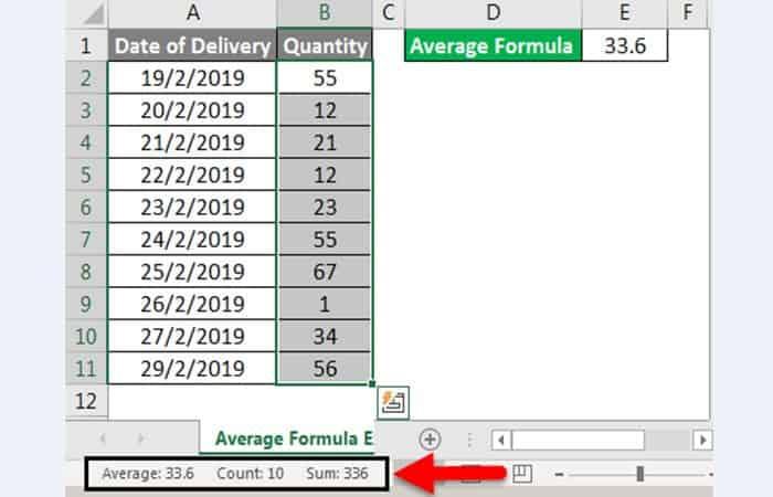 Wie man einen Durchschnitt in Excel 16 nimmt