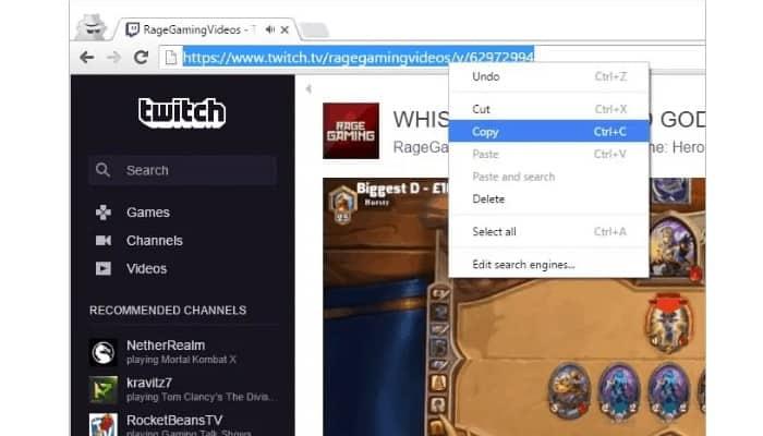 Herunterladen von Clips von Twitch 4
