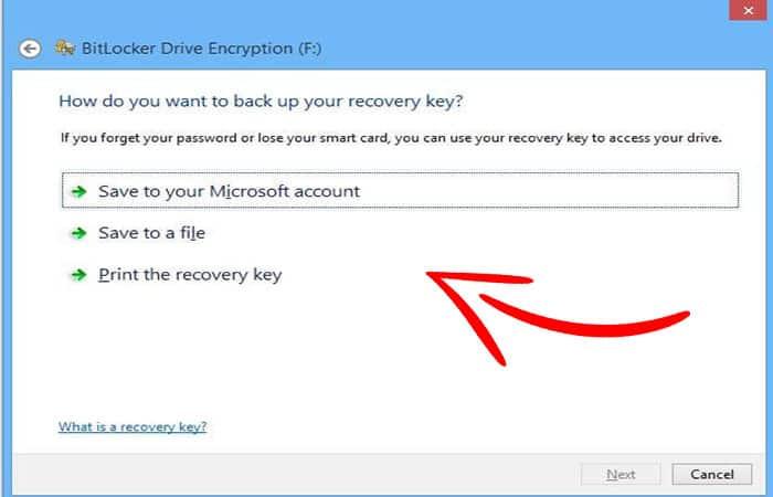Comment mot de passe une clé USB.  dix
