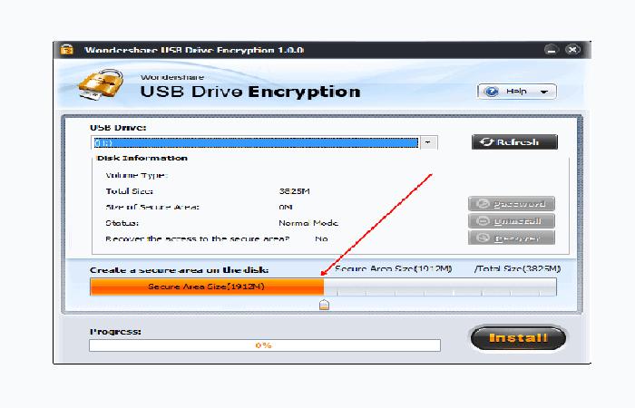Comment mot de passe une clé USB.  13
