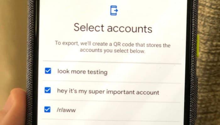 So übertragen Sie Google Authenticator auf ein anderes Gerät