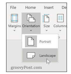 Wie man horizontale Seiten in Word Schritt für Schritt einfügt 17