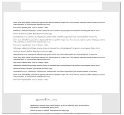 Wie man horizontale Seiten in Word Schritt für Schritt einfügt 20