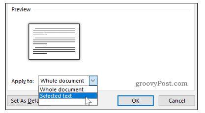 So fügen Sie horizontale Seiten in Word ein