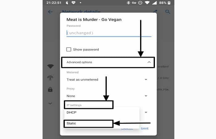 So ändern Sie DNS auf Android