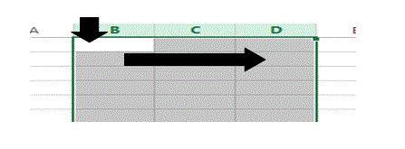 Was ist ein Bereich in Excel 16