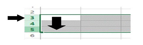 Was ist ein Bereich in Excel 14