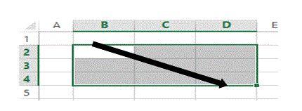 Was ist ein Bereich in Excel 18