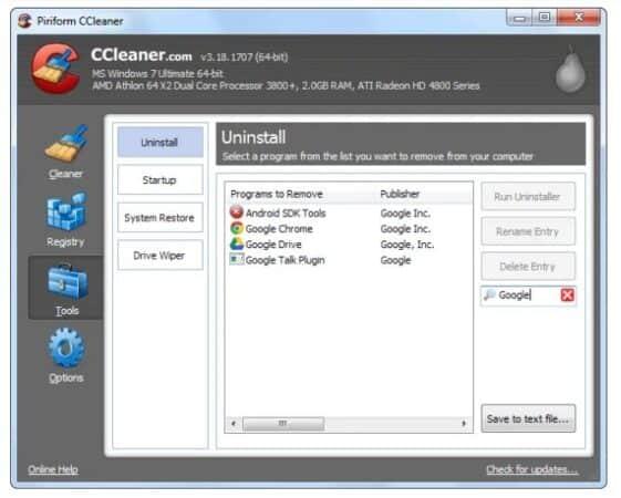 So verwenden Sie CCleaner für Windows 20